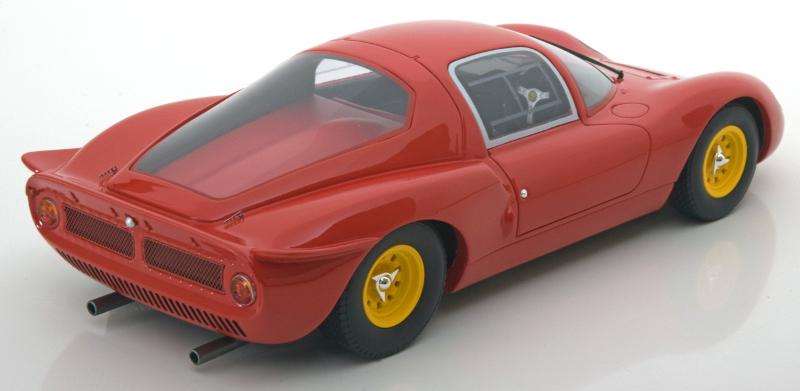 118 CMR Ferrari Dino plain body achter