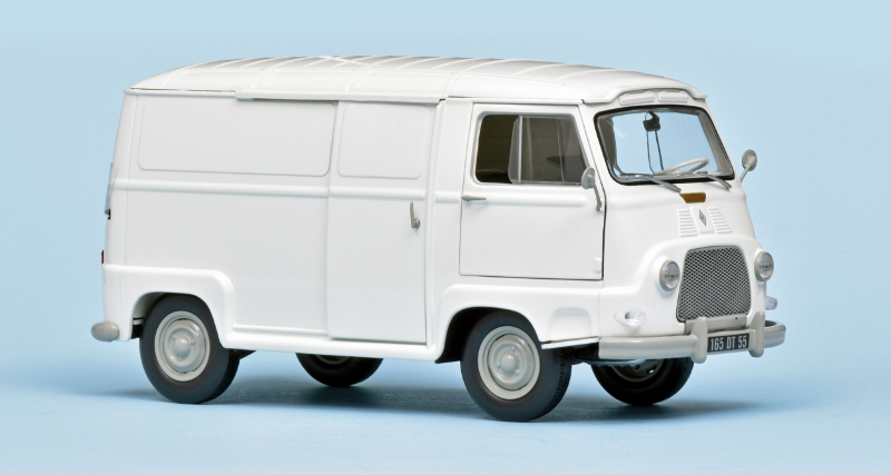 Mooi gedetailleerde Renault Estafette