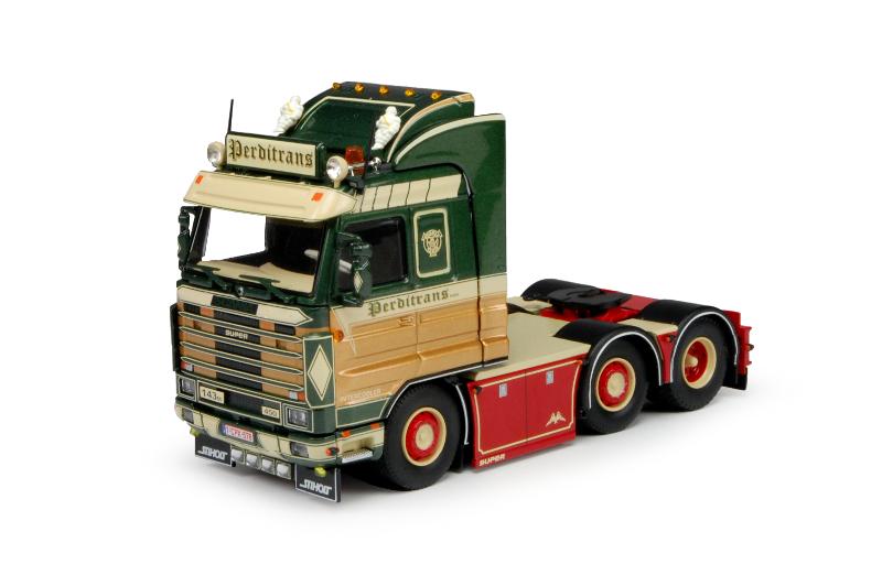 Fraaie Scania 143M 450 Topline van Tekno