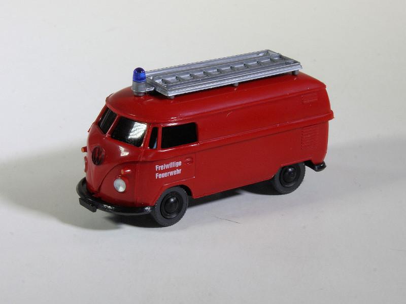 187 Wiking Volkswagen T1 Brandweer