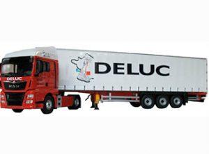 Verkleining MAN van Franse transporteur Deluc