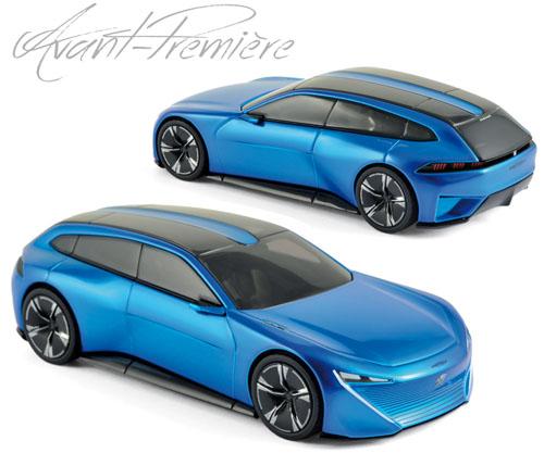 Bijzondere concept Peugeot van Norev