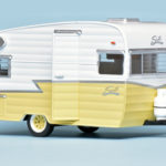 124 Greenlight Shasta Airflyte caravan