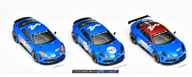 Alpine Celebration set van Norev
