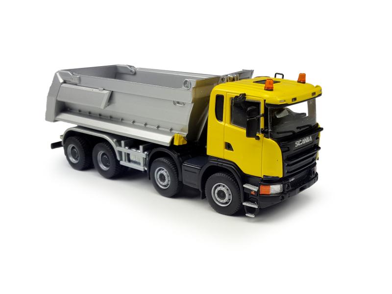 Scania G450 8×4 kipper van Tekno in 1:50