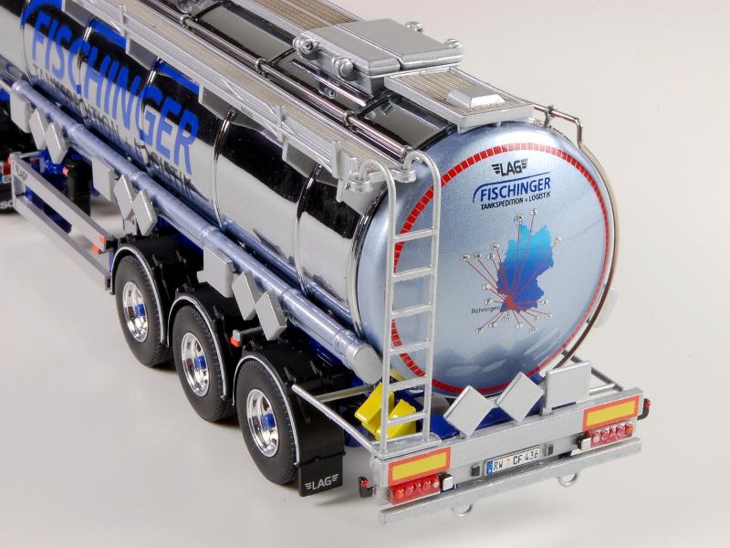 150 Tekno Scania R450 Topline Streamline Fischinger detail oplegger
