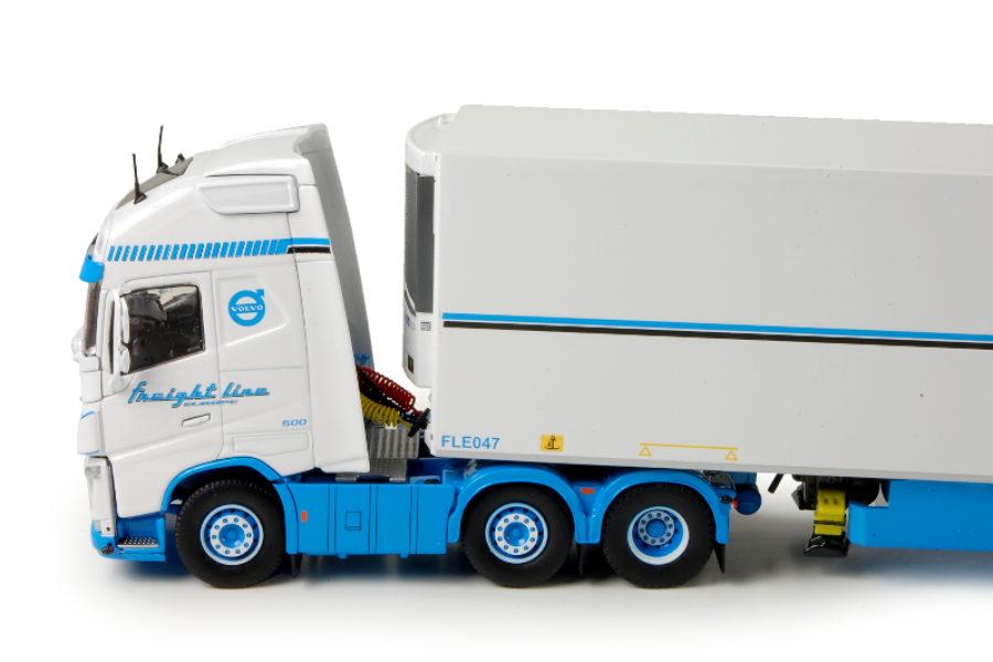 Volvo en Scania's van Tekno