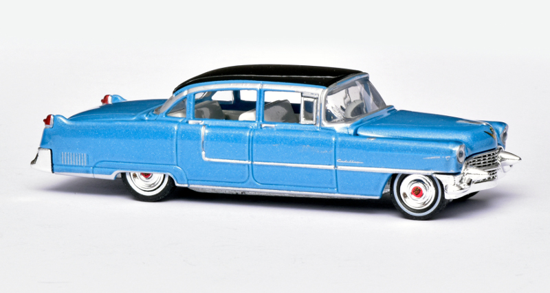 164 Greenlight Cadillac Fleetwood Series 60 Elvis (1955)