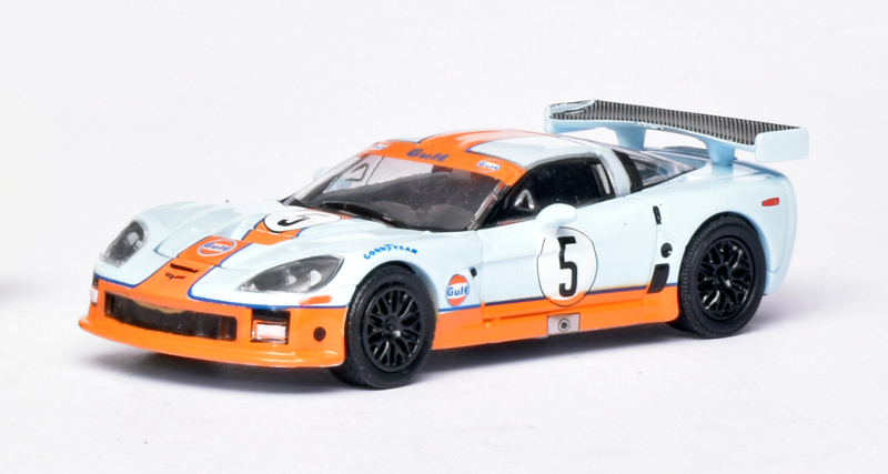 164 Greenlight Chevrolet Corvette C6R Gulf (2009)