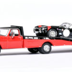 164 Greenlight Ford F-350 (1970) met Cobra Terlinga raceteam