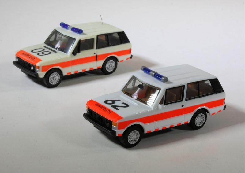 Herpa Rijkspolitie Range Rover