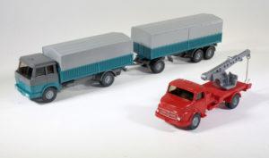 Henschel en Mercedes-Benz van PostMuseumShop