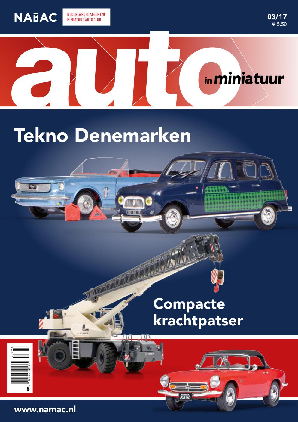 Auto in miniatuur 2017 | 3