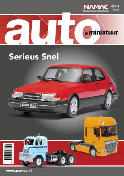Auto in miniatuur 2016 | 2