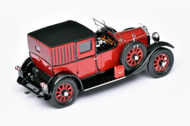143 Matrix Rolls-Royce 20HP OpenDrive Brougham Brewster (1927) achter