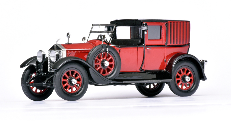 143 Matrix Rolls-Royce 20HP OpenDrive Brougham Brewster (1927)
