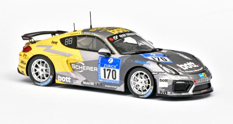Cayman GT4 van Spark
