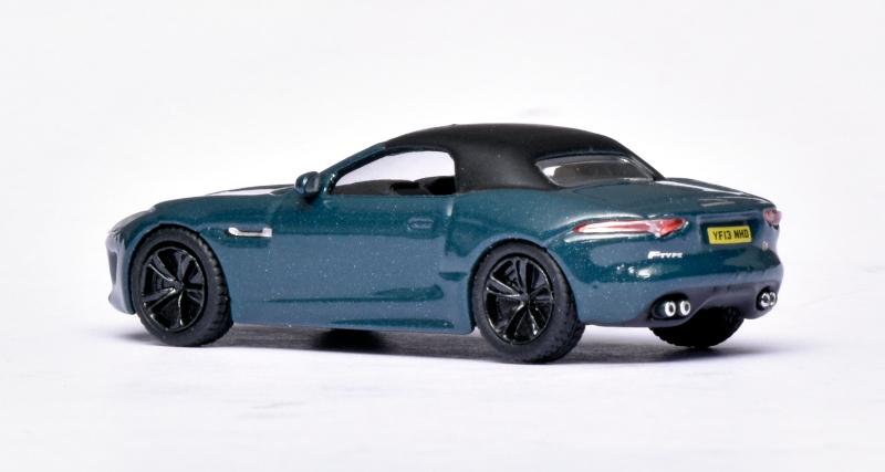 176 Oxford Diecast Jaguar F-Type top up achter