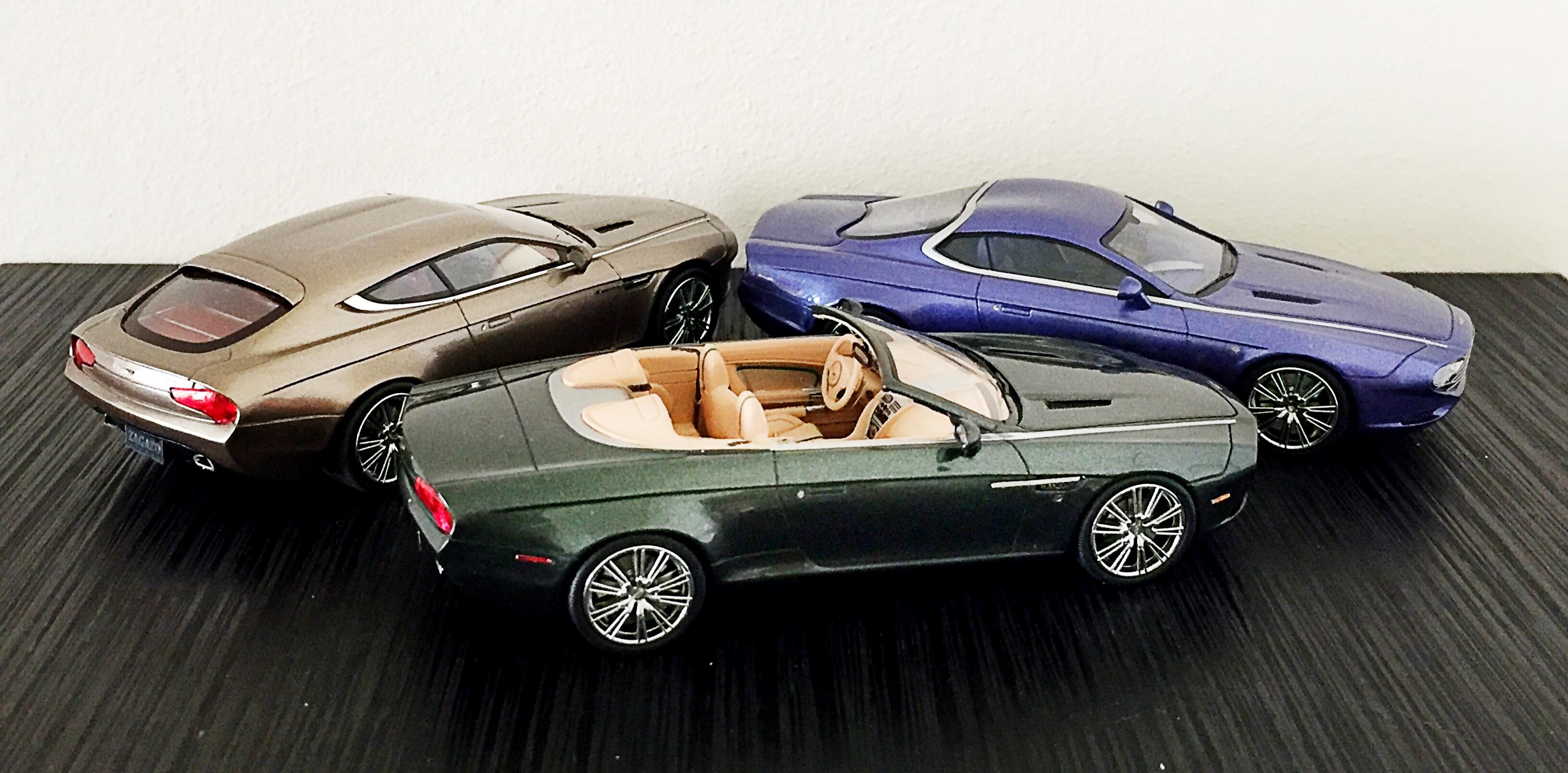 Aston Zagato Centennials van Matrix in 1:43