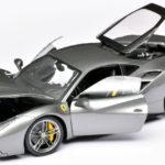 118 Bburago Ferrari 488 GTB open