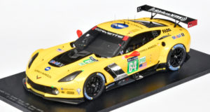 Le Mans Corvette van Spark