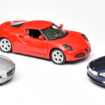 134 Welly Mercedes-Benz SLS-AMG Alfa Romeo 4C BMW 335i
