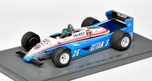 Ligier 1982 van Spark