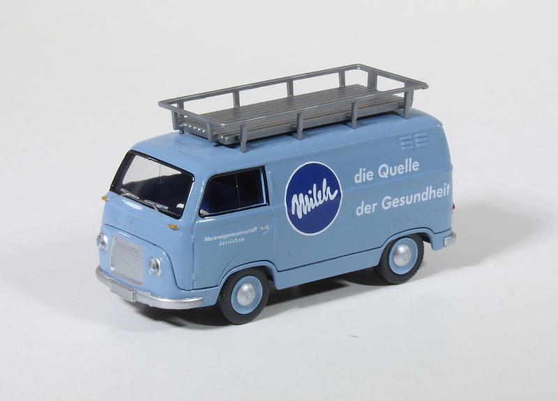 Ford gevuld met melk