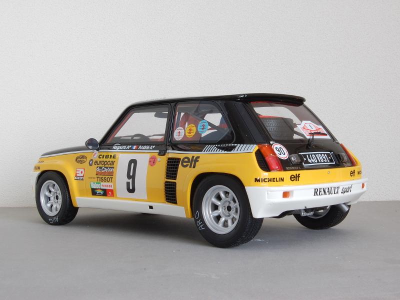 112 OttOmobile Renault 5 Turbo Ragnotti (1981) achter