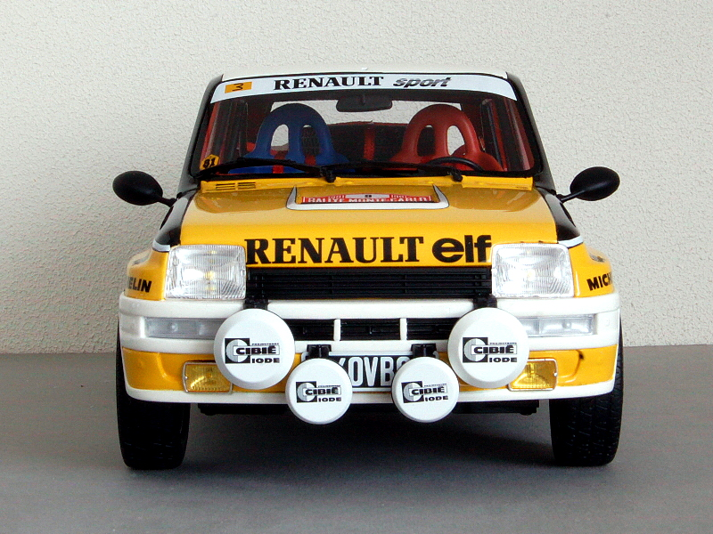 112 OttOmobile Renault 5 Turbo Ragnotti (1981) voor