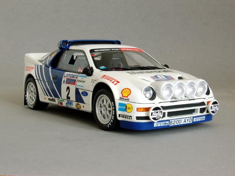 118 OttOmobile Ford RS200