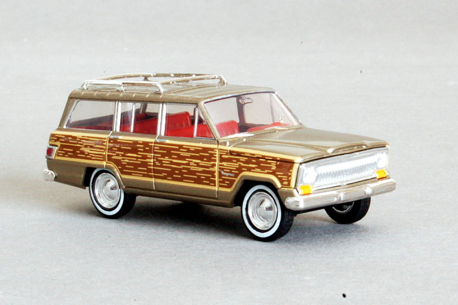 Dikke Jeep van Brekina