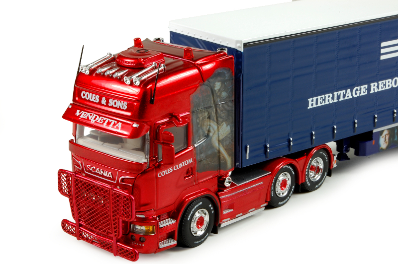 150 Tekno Scania R500 Topline Coles and Sons detail