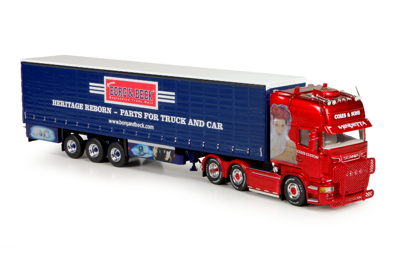 150 Tekno Scania R500 Topline Coles and Sons