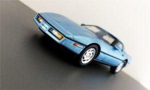 Kijk nou, een Corvette C4!