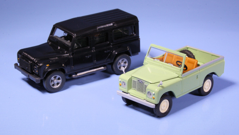 1:87 Land Rovers
