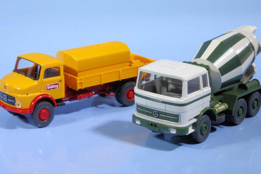Wiking Mercedes trucks