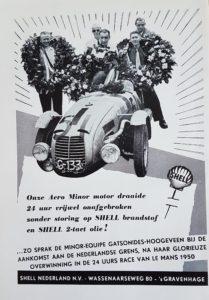Nederlandse coureurs op Le Mans
