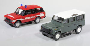 Wiking Land Rovers