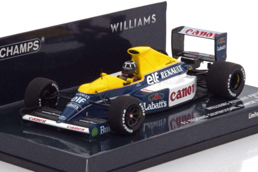 Williams met Damon Hill