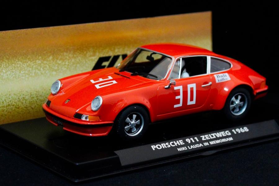 Fly Car Model: Lauda's Porsche