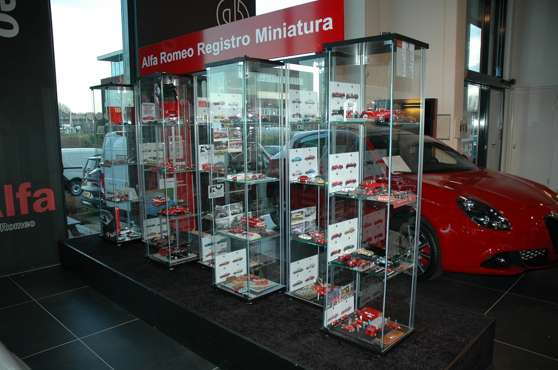 Alfa Romeo-miniaturen bij Zeeuw (28 november 2019 – 4 januari 2020)