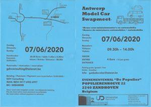Antwerp model car swapmeet 2020