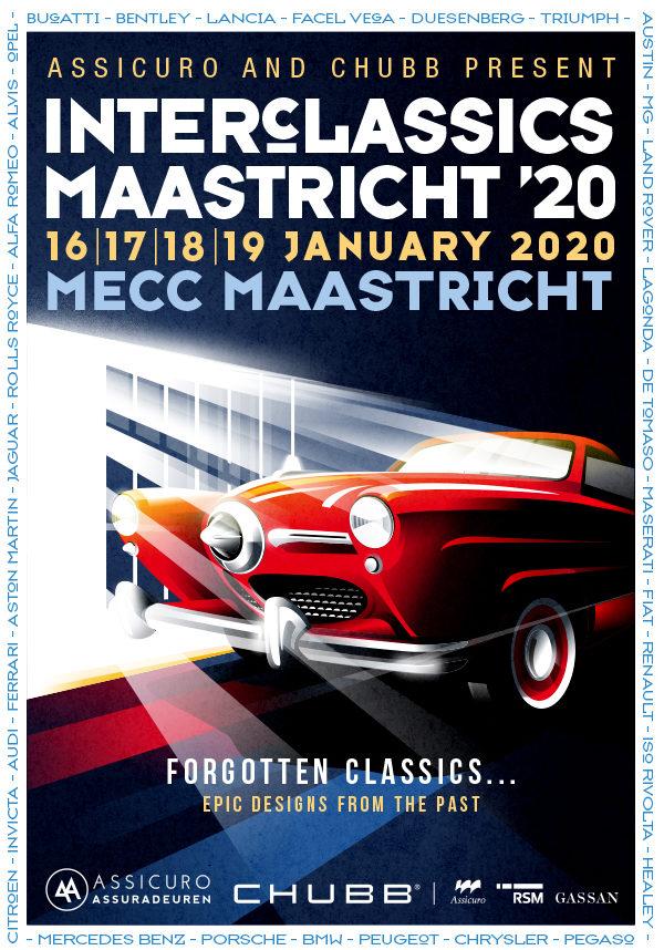 Interclassics, MECC Maastricht (16 -19 januari 2020)