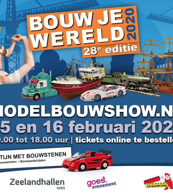 Modelbouwshow (15 – 16 februari 2020)