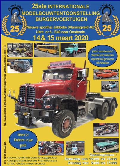 Modelbouwtentoonstelling (14 – 15 maart 2020)