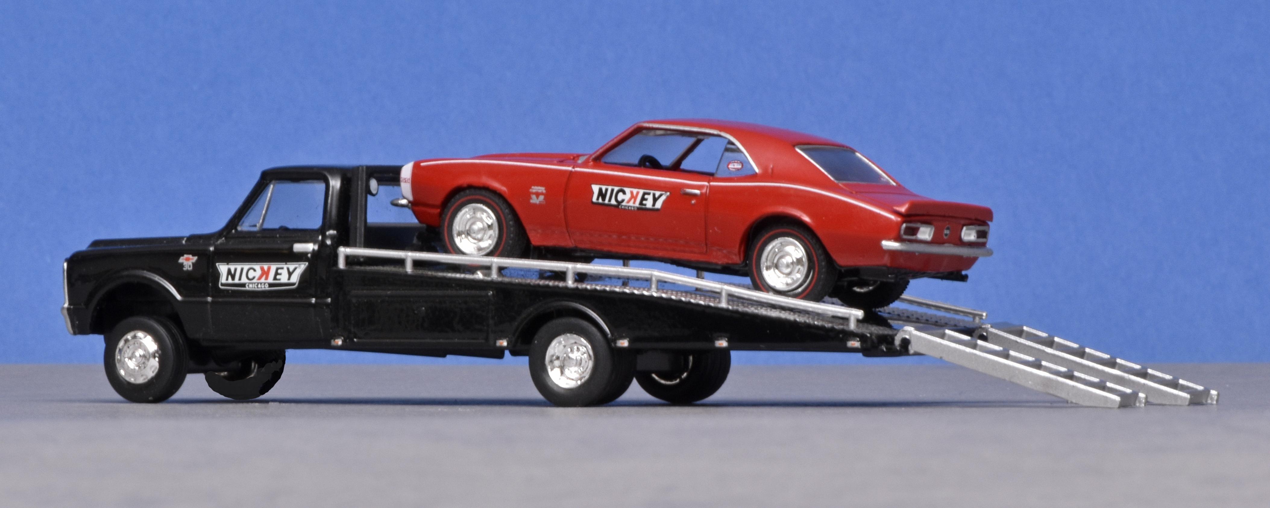 Muscle car-vervoer