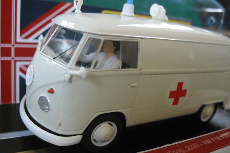 Britse Volkswagen ambulance