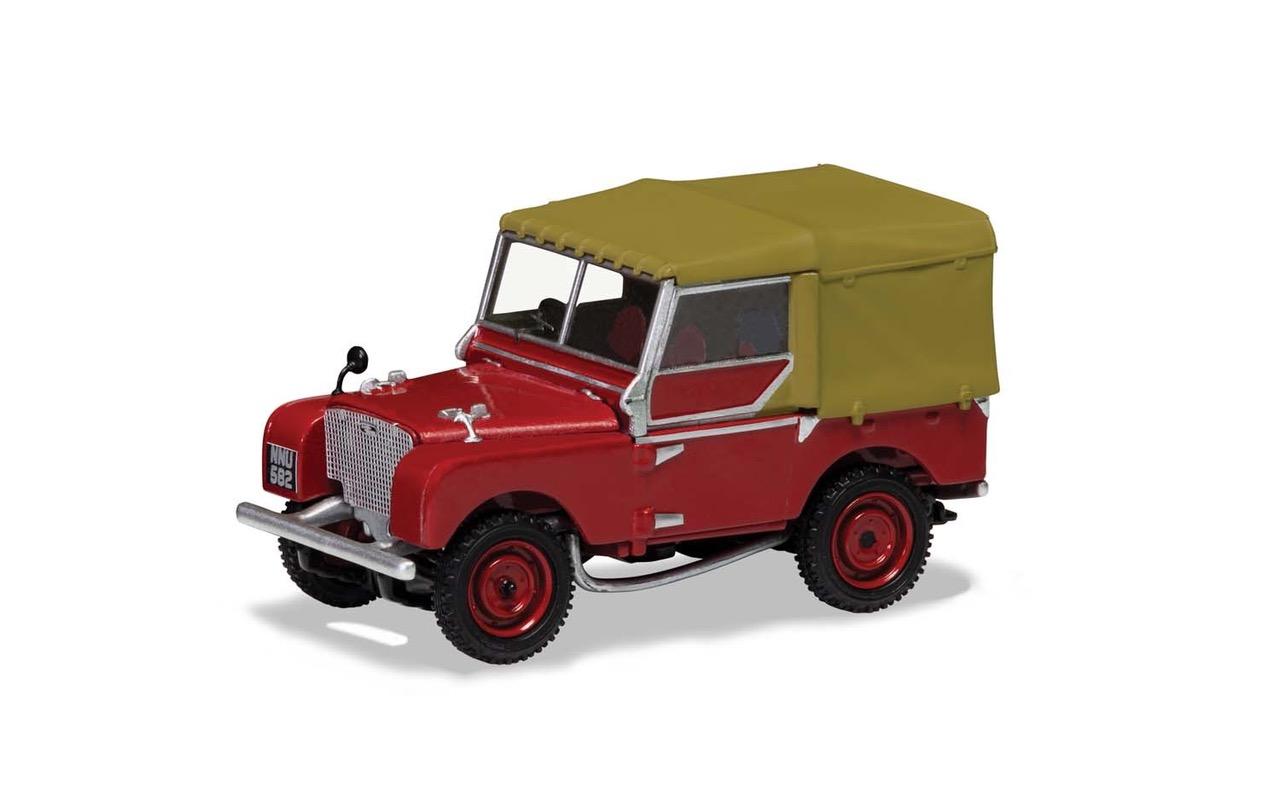 Rode Land Rover