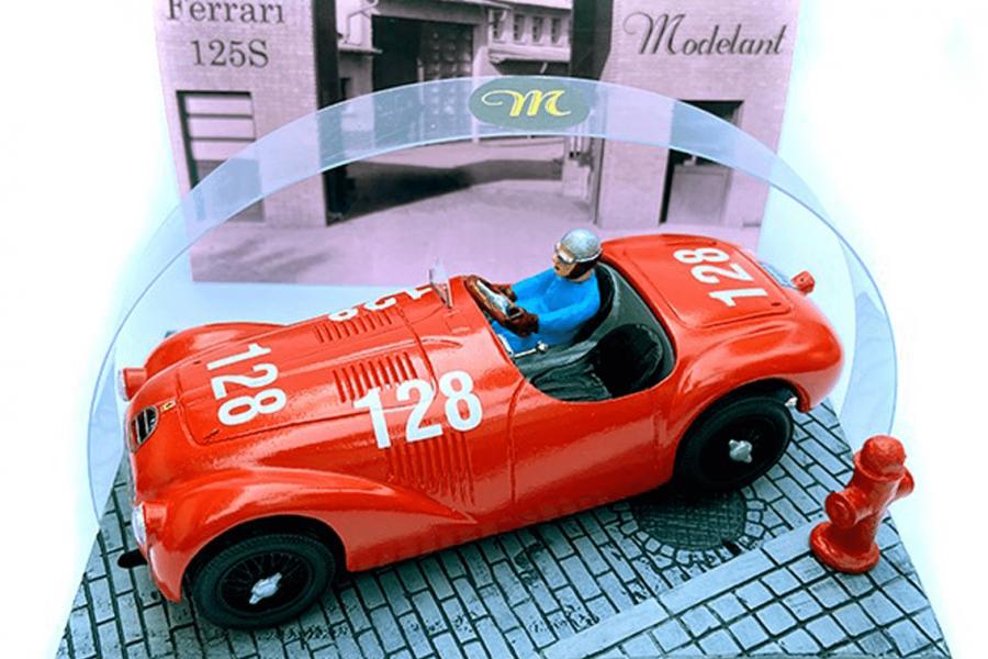 De eerste echte Ferrari